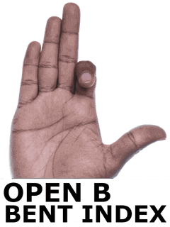 OPEN B BENT INDEX